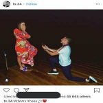 Xhaka's romantic proposal to his girlfriend. He said yes!