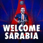[official PSG Twitter] Sarabia to PSG for 5 seasons