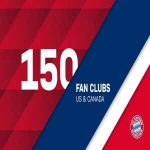 """When @FCBayernUS opened a regional office in North America in 2014, the club had eight official fan clubs in the market. Today Bayern announces it has reached the 150-club mark. Beyond impressive."""
