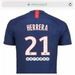 [Paris United] Ander Herrera number leaked on PSG store, will wear number 21