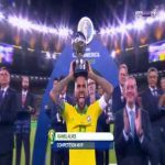 Daniel Alves has won the 2019 CONMEBOL Copa America Golden Ball for the best player in the tournament