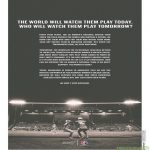 """From today's New York Times: Budweiser announce they will sponsor the American women's soccer league. """"We won't stop watching."""""""