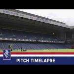 How a football pitch is completely redone over the summer (timelapse video from Ibrox)