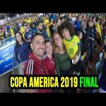 Taking a single mother and her son to watch Brazil vs Peru for Copa America final 2019