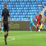 Accrington 2-0 Marseille - Offrande Zanzala penalty 37'