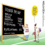 Gender pay gap on soccer is true