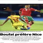[Bilel Ghazi] OGCN close to beat OM and Bordeaux in the signing of Sofiane Boufal