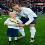 "Harry Kane: ""Very sad to hear that Ben Williams passed away recently. It was an honour to have met him at the Spain game and shared a special moment with the golden boot. My thoughts are with his family."" (more down in the comments)"