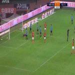 Paulinho (Guangzhou Evergrande) 3rd goal vs Dalian Yifang