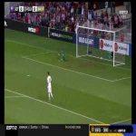 Fiorentina 0-[1] Chivas Guadalajara - Javier Lopez 25'