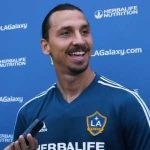 """Not another Zlatan. That's for sure,"" Ibrahimovic joked with reporters when asked what's in Area 51. When asked if they would let Ibrahimovic into Area 51 he replied: ""I have my own area 51."""