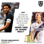 Zlatan on being the best player in mls- via BR Football