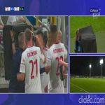 Žarko Udovičić (Lechia Gdańsk) red card vs. ŁKS Łódź + call (43')