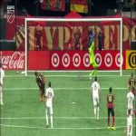 DC United - Atlanta United FC - Josef Martínez penalty miss (great miss)