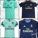 Arsenal and Real Madrid copying kit