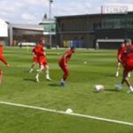 Liverpool prepare for the new season with some intense passing drills 👌  🎥 Liverpool FC