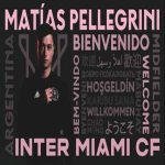 [Official] Matías Pellegrini joins Inter Miami from Estudiantes