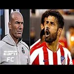Diego Costa scores 4 and is sent off as Atletico crush Real Madrid in New York | ICC Highlights