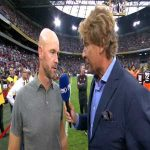 "Mark van Bommel called Erik ten Hag 'bald' at halftime. ten Hag: ""And I said curly head."""