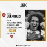 Arsenal has opened discussions with Mattéo Guendouzi, hired until 2022 with the Gunners, for an extension. The exchanges are at their beginnings, but illustrate the will of the London club.