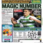 Stephen McGowan: Arsenal are set to meet Celtic's £25m valuation for Kieran Tierney. Clubs were moving closer to agreeing a deal last night. It's understood that by the time Celtic travel to Romania next Tuesday, Tierney could finally be a Gunner.