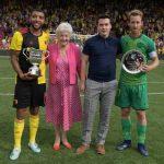 Watford have won the Graham Taylor OBE Memorial Cup