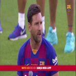 Messi's opening speech at Johan Gamper