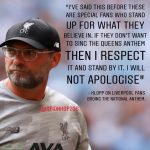 Klopp on fans booing GSTQ