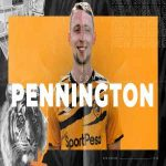 Hull City have signed defender Matthew Pennington on a season-long loan deal.