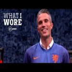What I Wore: Robin van Persie
