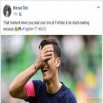 Is there a soccer cringe community? I like Özil, but this post gave me cancer