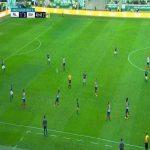 Palmeiras - Bahia 45' Red card Felipe Melo