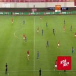 Anderson Talisca (Guangzhou Evergrande) free kick goal vs Chongqing Lifan