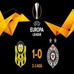 Partizan have qualified for the Europa League play-off.