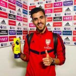 Dani Ceballos' game by numbers vs. Burnley: 100% take-ons completed, 97 touches, 90% pass accuracy, 70 passes, 19 duels, 7 recoveries, 5 crosses, 4 take-ons completed, 4 chances created, 3 fouls won, 3 shots, 2 tackles made, 2 assists. Official Man of the Match on his Arsenal XI debut.