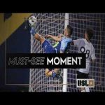 Edson Partida(El Paso Locomotive) Scores an Absolutely Stunning Goal