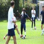 Callum Hudson-Odoi back in first team training