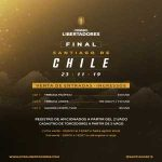 [Santiago 2019 on Twitter] 2019 Libertadores Final ticket prices.