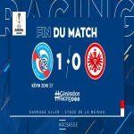 FT: Strasbourg 1-0 Eintracht Frankfurt