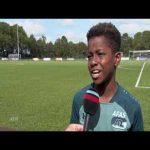 Great penalty by an AZ Alkmaar youngster