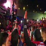 Daniel Sturridge arrives in Trabzon, Trabzon fans doing what they do best to welcome him.