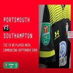 Portsmouth will host Southampton in the third round of the Carabao Cup - this is the first meeting between the clubs since April 2012