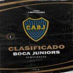 Boca Juniors has advanced to the semifinals of the 2019 CONMEBOL Libertadores