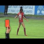 Fidel Martínez was sent off for this shotgun celebration. The best part was his teammate doing the worm past the ref as he was showing the red. The rest of the video is worth watching, too.