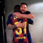 I think we all want to be hugged the same way Messi hugs his teammates.