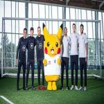 Pikachu has joined up with the England squad