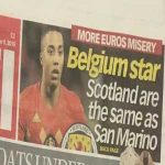 After Tielemans said Scotland were on the same level as San Marino, Belgium beat Scotland by the exact same margin they beat San Marino only a few days ago, 4-0.