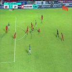 América de Cali 2 - [1] Deportivo Cali - Juan Ignacio Dinenno 74'