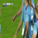 Great goal by Pauline Bremer