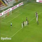 Gazisehir 1-0 Besiktas - Patrick Twumasi (PK) 8'